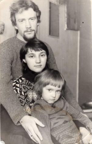 Сайт Полины и Дмитрия Лучановых. с родителями 1982