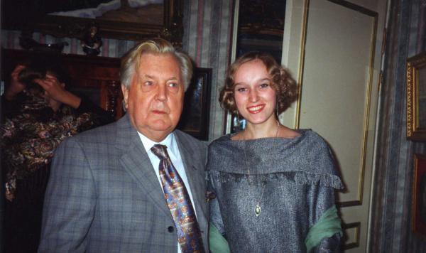 Сайт Полины и Дмитрия Лучановых. Илья Глазунов и Полина Лучанова 2001