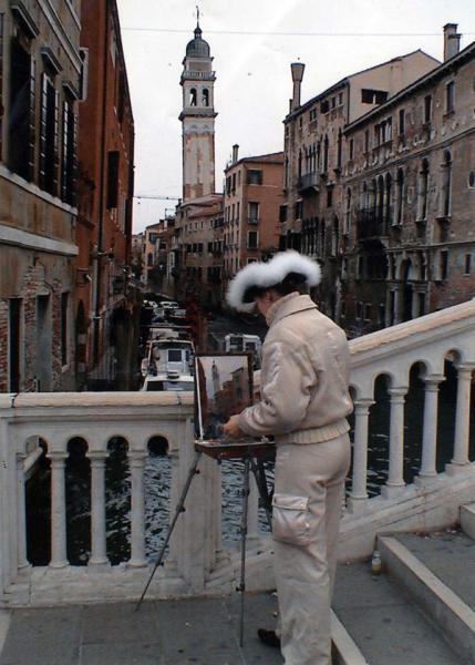 Сайт Полины и Дмитрия Лучановых. На этюдах в Венеции 2005