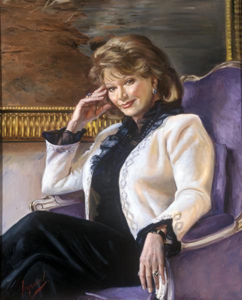 Polina & Dmitry Luchanov. Portrait of Olga