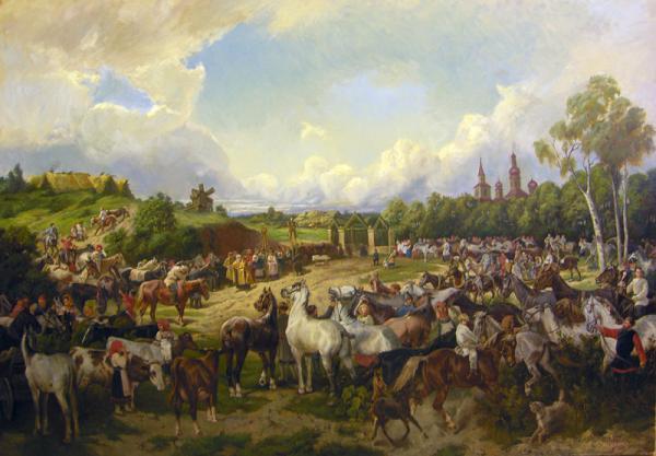 Сайт Полины и Дмитрия Лучановых. Праздник-Флора-и-Лавра-185-130см
