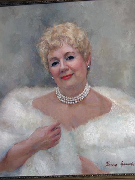 Сайт Полины и Дмитрия Лучановых. портрет Риммы Дорожкиной
