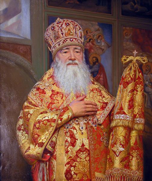 Сайт Полины и Дмитрия Лучановых. Портрет епископа Крутицкого и Коломенского Ювеналия